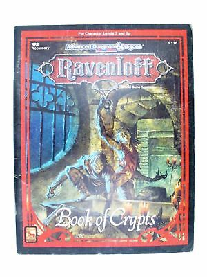 Rpg AD&D Ravenloft - RR2 Book of Crypts
