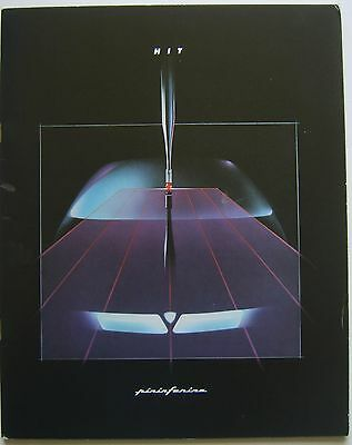 Lancia Pininfarina HIT Delta Integrale Based Concept Car Press Kit circa 1988