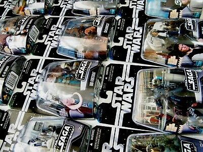 Star Wars The Saga Collection Carded Figures 2006-2007 - Moc - See Photos!