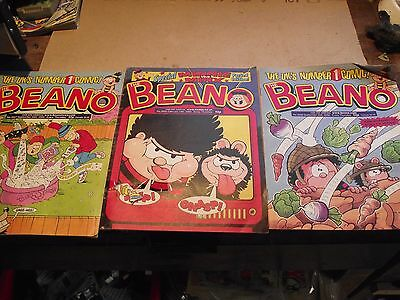 Vintage Beano Comics X 22 Job lot  All From 2000