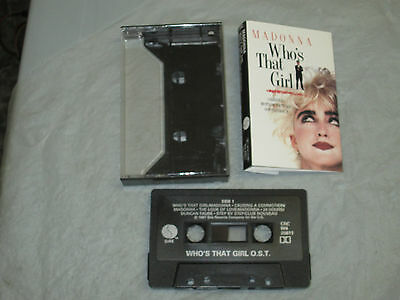 Madonna Who's That Girl - Soundtrack (Cassette, Tape) Working Great Tested