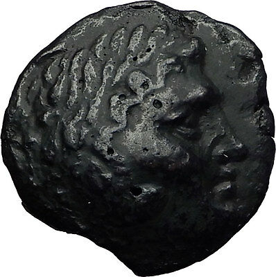BOSPORUS King Leukon II 240BC Rare R1 Genuine Ancient Greek Coin Hercules i60700