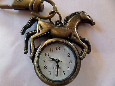 Horse Keyring Watch (M9)NEW BATTERY BEFORE POSTING