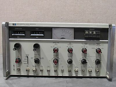 HP Agilent Keysight 675A Sweeping Signal Generator Hewlett Packard W/ Option #3