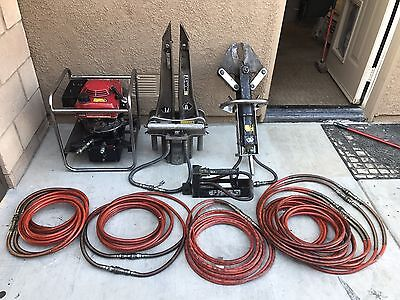 Hurst Rescue Jaws Of Life Hydraulic 5000 Psi