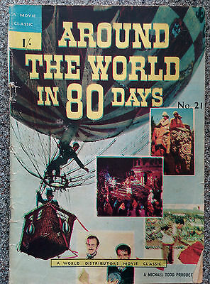 Movie Classics Around The World In 80 Days by Jules Verne (old copy)