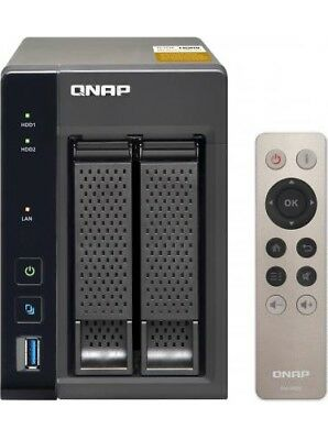 "QNAP NAS Hard Disk 2.5"" / 3.5"" 2 Slot Ethernet USB 3.0 HDMI Ram 4GB -TS-253A"