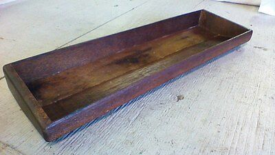 "Vintage Wooden Box or tray or lid , 20"" long Nice!"