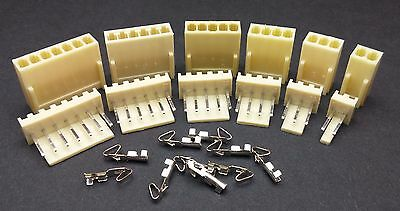 2-12 Pin 2.54mm KF2510 Connector Sets Housing + Header + Crimps (Molex KK Style)