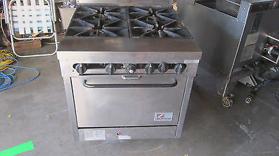 """""""SOUTH  BEND 1364"""" HD COMMERCIAL (NSF) NATURAL GAS 4 BURNERS STOVE/RANGE w/OVEN"""
