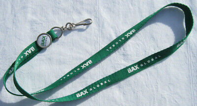 Burlington Northern Air Freight BAX Global Schlüsselband Lanyard NEU (T212)