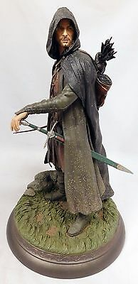 Sideshow Exclusive Lord Of The Rings Aragorn as Strider Polystone Statue Figure