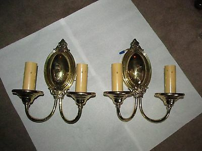 Antique Sconces Solid Brass Collecrible Sconces Home & Garden Sconces Rewired
