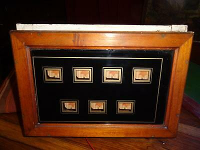 Antique Vintage Butlers Servants Bell Box - 7 Room Indicator - for restoration