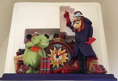 RARE: Paul Winchell's Own Dick Dastardly And Muttley Limited Edition Clock