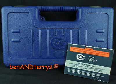 Colt Factory 1991A1 Commander Model Old Style Box Case with Manual