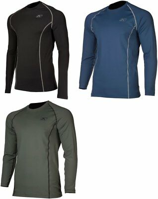 Klim Mens Aggressor 1.0 Poly Blend Long Sleeve Base Layer Shirt