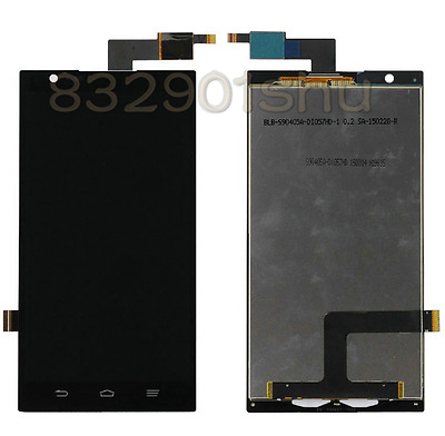 New Assembly LCD Display+Touch Screen Digitizer For ZTE ZMAX Z970 black #yu88