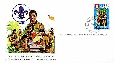 Niue 1982 Scout Card FDC