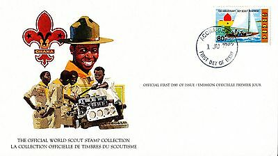 Ghana 1982 Scout Card FDC