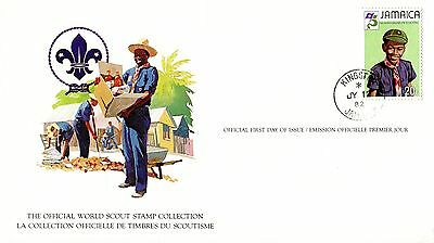 Jamaica 1982 Scout Card FDC