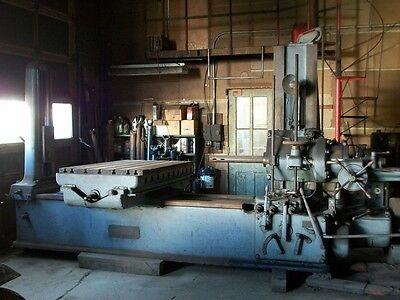 Giddings and Lewis Horizontal Boring Drilling and Milling machine, 3 inch bar