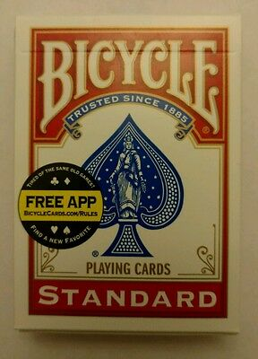 Svengali Deck-Professional Bicycle Brand Magic Cards. (Red)