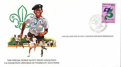Surinam 1982 Scout Card FDC