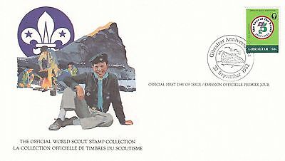 Gibraltar 1982 Scout Card FDC