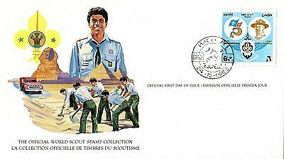Egypt 1982 Scout Card FDC