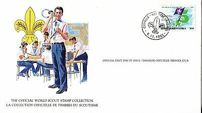 Cyprus 1982 Scout Card FDC
