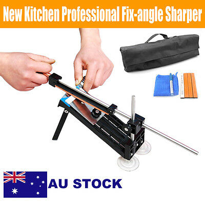 Pro Chef Fix-Angle Sharpening System Edge Pro Style Knife Sharpener Kitchen Tool