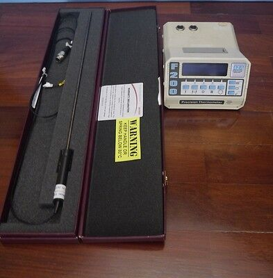 ASL F200 Precision Thermometer with ISOTECH PRT