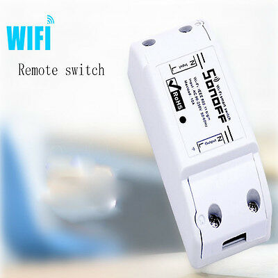 Fashion Home WiFi Controller Module Wireless Smart Switch Socket ABS Shell
