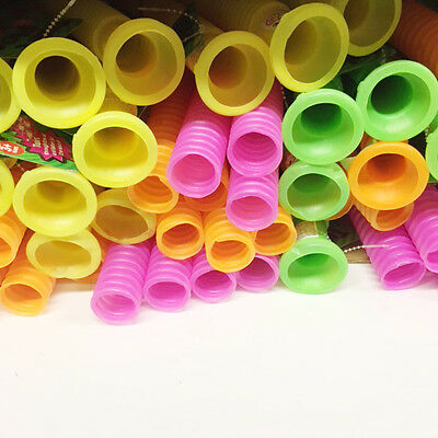 New Pink Plastic Twirl Pipe Sound Hose Instrument Science Toys Multtple Colours