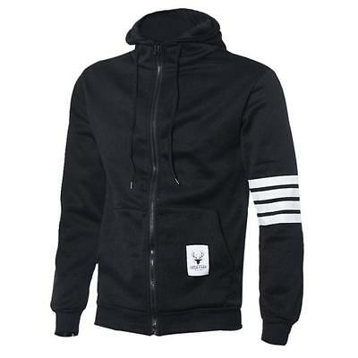 New Men Casual Sweatshirt Zipper Hoodie Hooded Pocket Jackets Tracksuits Outwear