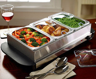 Scotts of Stow Compact Buffet Food Warmer (200W)