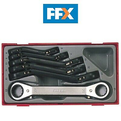 Teng TENTTRORS TTRORS 6pc Metric Ratchet Ring Spanners