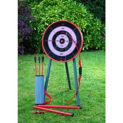 NEW Giant Bow & Arrow Archery Set for Kids and Target Outdoor Garden Fun Game