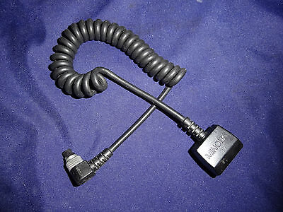 Minolta Maxxum Off-Camera Cable OC Flash accessory #8808-100