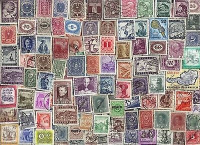 400 All Different AUSTRIA Stamps (lot p)