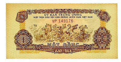 South Vietnam ... P-R4 ... 1 Dong ... ND(1963) ... CH*AU*