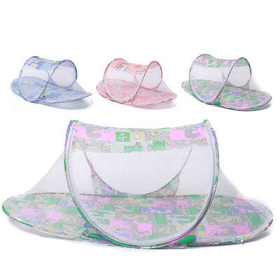 Baby Bedding Pink Blue Mosquito Net Kids Portable Strollers Breathable Mosquito