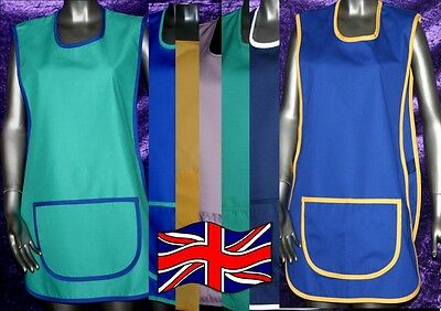 TABARD APRON catering UK made top quality M L XL housekeeping tabbard workwear
