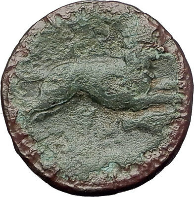LYSIMACHOS 323BC Alexander the Great Lion Authentic Ancient Greek Coin i60799