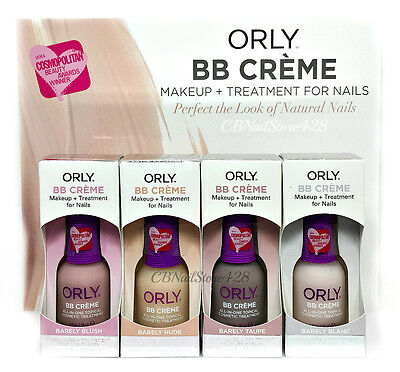 Orly BB CREME MAKEUP + TREATMENT for NAILS - Pick Any Color