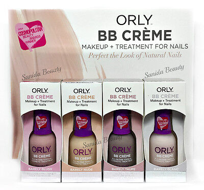 Orly BB CREME Makeup + Treatment for Nails - COSMOPOLITAN AWARDS! Pick any color