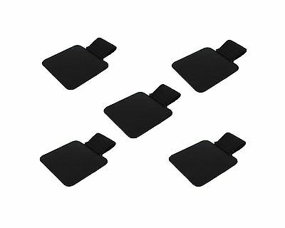 yueton 5pcs Self-adhesive Leather Pen Holder with Elastic Loop for Notebook- NEW
