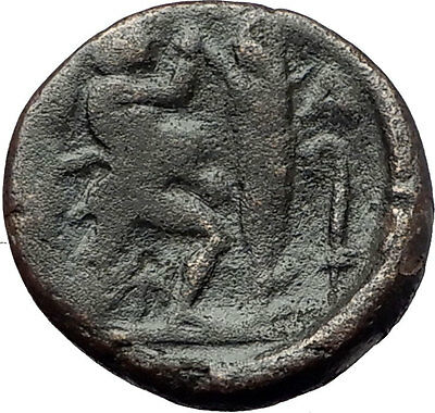 ANTIGONOS II GONATAS 277BC Pan Athena Gallic Victory Macedonia Greek Coin i60801