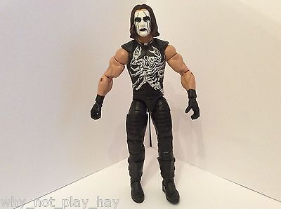 Wwe tna wcw defining moments sting mattel elite toy wrestling figure hof
